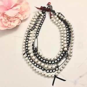 Betsy Johnston Vintage Beautiful Layer Necklace 💋
